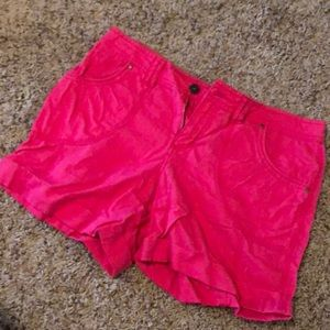 Hot pink shorts never worn!
